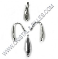 Earring hook 20x10mm,...