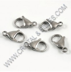 Clasp lobster 12x6mm,...