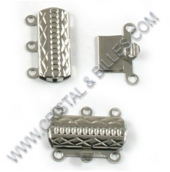 Box clasp 3 rows 20x14mm ,...