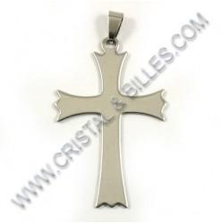Pendentif croix 53x33mm,...