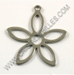 Pendant 24x25mm, Stainless...