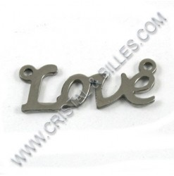 "Pendant ""Love"" 22x9mm,..."
