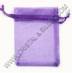 Organza 08X10cm, Purple