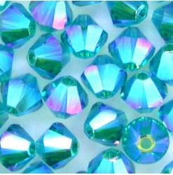 5328 4mm, Blue zircon AB2X...