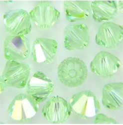 5328 4mm, Chrysolite AB -...