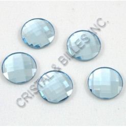 2035 Aquamarine 14mm - Qté : 6