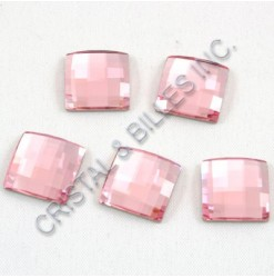 2493 Light rose 12mm - Qty : 6