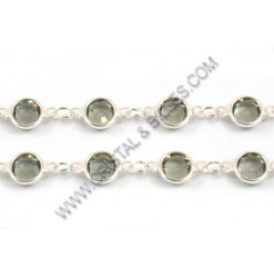 Chain SS29, Silver plated,...