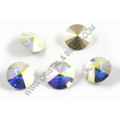 1122 10mm Rivoli, Crystal...