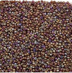 Seed beads 11-0, Dark red...