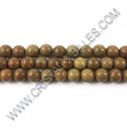 Wood lace stone Sienna, 8mm...