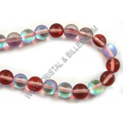 Moonstone synthetic, Red...