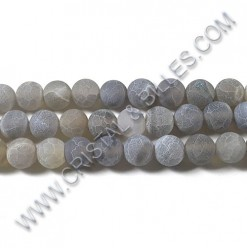 Agate effloresce Light grey...