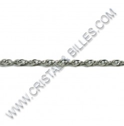 Rope 2.5x2.0mm, Stainless...