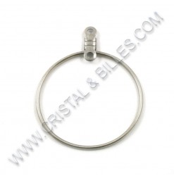 Ear hoop 26mm, Stainless...