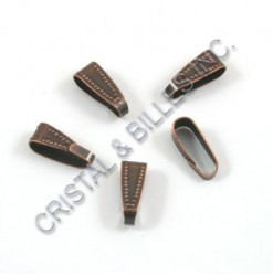 Bail 11x4mm, Antique copper