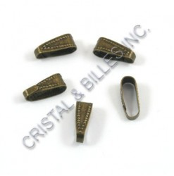 Bail 11x4mm, Antique brass