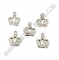 Charm crown 13 x 11mm,...