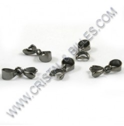 Bail 2x7mm, Black nickel