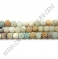 Amazonite matte 06mm - Qty...
