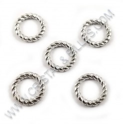Twisted ring 9.5x1.5mm,...
