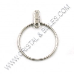 Ear hoop 20mm, Stainless...