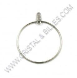 Ear hoop 32mm, Stainless...