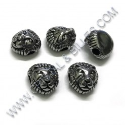 Bead Lion 12 x 11 x 8mm,...