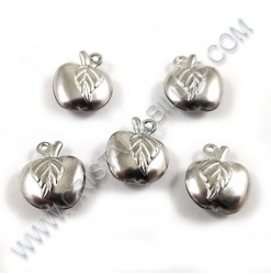 Charm apple 13x11mm,...