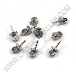 Bail 06x03x0.8mm, Stainless...