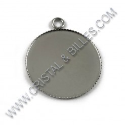 Base cabochon 26 x 31mm,...