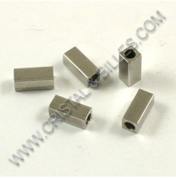 Bead 07x03x03mm, Stainless...