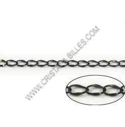 Chain oval 3x2mm, Stainless...
