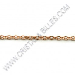 Oval 2.4 x 1.9mm, S/S Rose...