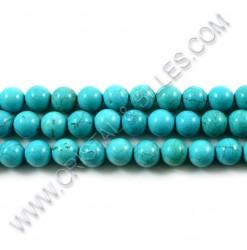 Turquoise bleu 08mm -...