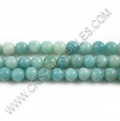 Amazonite green 08mm - Qty...